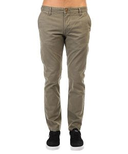 Quiksilver | Штаны Прямые Everyday Chino Dusty Olive
