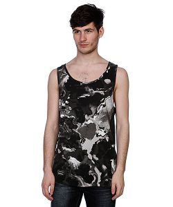 Sixpack | Майка Marbleable Tank Top Grey Scale