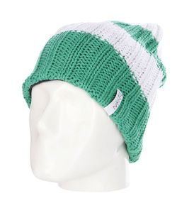 Nikita | Шапка Вязаная Snowbird Beanie Deep Mint/Snow White