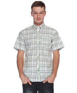 Santa Cruz | Рубашка В Клетку Hayes Green Check