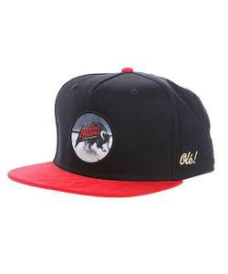 K1X   Бейсболка Straight Up Snapback Cap Black/Red