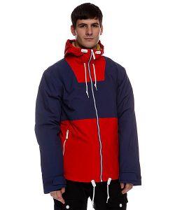 Colour Wear   Куртка Утепленная Block Jacket Navy