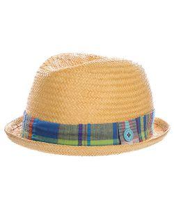 Globe | Шляпа Plaid Band Bowler Hat Natural