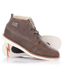 Hub | Ботинки Зимние Jensen Grey/White