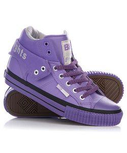 British Knights | Кеды Кроссовки Высокие Женские Roco Purple/Light Grey/Purple