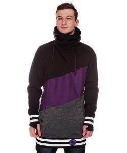 Shweyka   Толстовка Сноубордическая Exception Black/Purple/Grey
