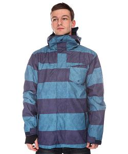 Quiksilver | Куртка Mission System Printed Jacket Moroccan Blue