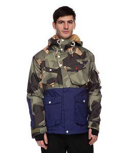 Colour Wear   Куртка Ambush Jacket Asymmetric Olive
