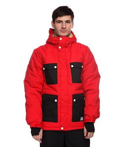 Colour Wear | Куртка Switch Jacket Red