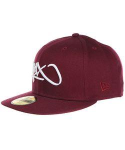K1X   Бейсболка С Прямым Козырьком Tag Logo 59/50 Burgundy