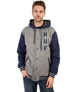 Huf | Бомбер Campus Snap Front True Premium Hoodie