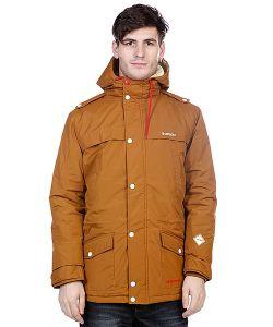 Truespin   Куртка Парка True Spin Fishtail Brown