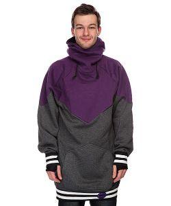 Shweyka   Толстовка Сноубордическая Poncho Purple/Grey