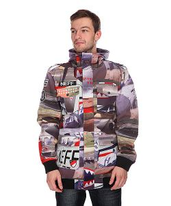 Neff | Куртка Warplanes Softshell Grey