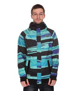 Neff | Толстовка Сноубордическая Painted Stripe Shred Black/Blue