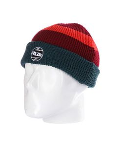 Nootknoot | Шапка Acorn Beanie Virdis/Brick Red/Orange
