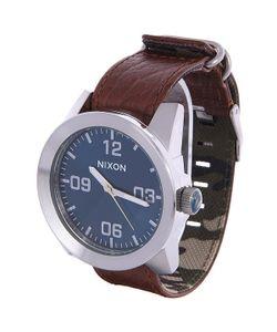 Nixon | Часы Corporal Brown/Blue Sunray