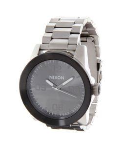 Nixon | Часы Corporal Ss Silver/Gunmetal