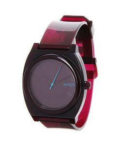 Nixon | Часы Time Teller P Translucent Burgundy