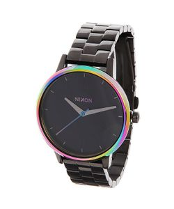 Nixon | Часы Женские Kensington Gunmetal/Multi