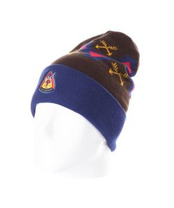 Truespin | Шапка Native Wisdom Classic Beanie Navy/Brown