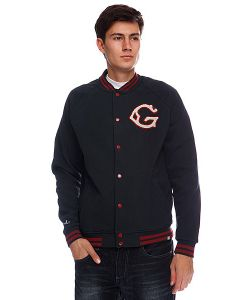Globe | Бомбер First String Jacket Ink Blue