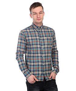 Nootknoot | Рубашка В Клетку Nootk Flannel Shirt Blue