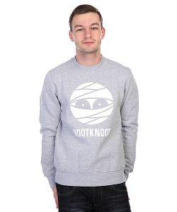 Nootknoot | Толстовка Mummy Logo Sweat Heather Grey
