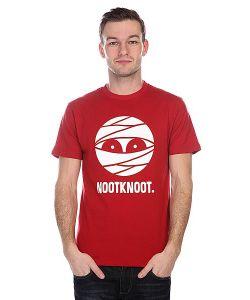 Nootknoot | Футболка Mummy Logo Tee Brick Red