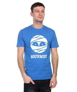 Nootknoot | Футболка Mummy Logo Tee French Blue