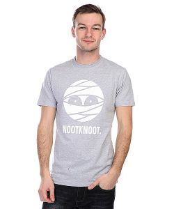 Nootknoot | Футболка Mummy Logo Tee Heather Grey