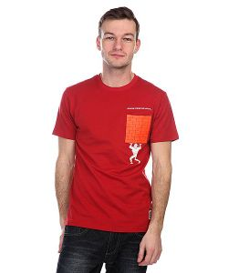 Nootknoot | Футболка Pocket Wall Tee Brick Red