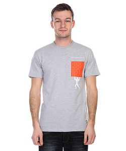 Nootknoot | Футболка Pocket Wall Tee Heather Grey
