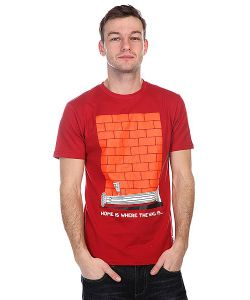 Nootknoot | Футболка Wall Tee Brick Red