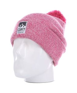 Colour Wear | Шапка С Помпоном Женская Bliss Beanie Melange Pink