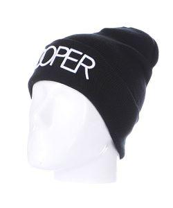 Truespin | Шапка Doper Beanies Black