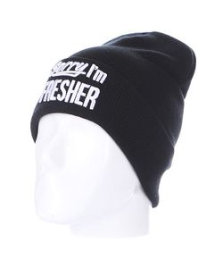Truespin | Шапка Sorry Beanies Black