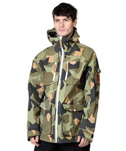 Colour Wear | Куртка Falk Jacket Asymmetric Olive