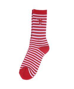 Fallen | Носки Trademark Mini Striped Sock Red/White
