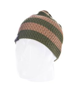 Fallen | Шапка Buffalo Striped Knits Beanie Tan/Olive