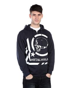 Metal Mulisha | Толстовка Era Zip Fleece Navy
