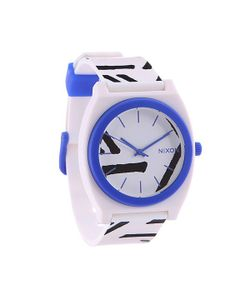 Nixon | Часы Time Teller White/Cobalt