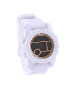 Nixon | Часы Женские Unit 40 All White/Gold