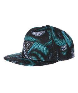 Cayler & Sons | Бейсболка Milano 2tone Cap Black/Blue Snakes