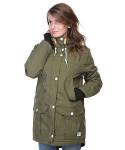Colour Wear | Куртка Парка Женская Blitz Olive
