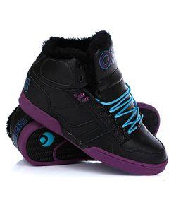 Osiris   Зимние Кеды Nyc 83 Shr Black/Purple/Teal