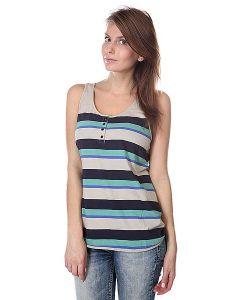 Loreak Mendian | Майка Женская T-Shirts Sless Guajira Navy Osaki Green Light Beige Blue