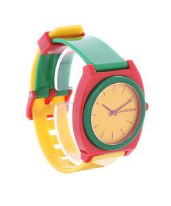 Nixon | Часы Time Teller Rasta