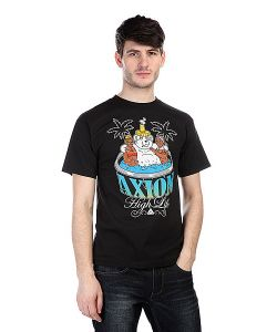 Axion | Футболка Hot Tub Bear Tee Black