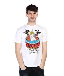 Axion | Футболка Hot Tub Bear Tee White